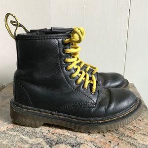 Kid's Doc Marten zip up boots 12